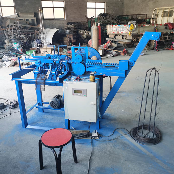 Best rebar loop wire tie making machine factory price