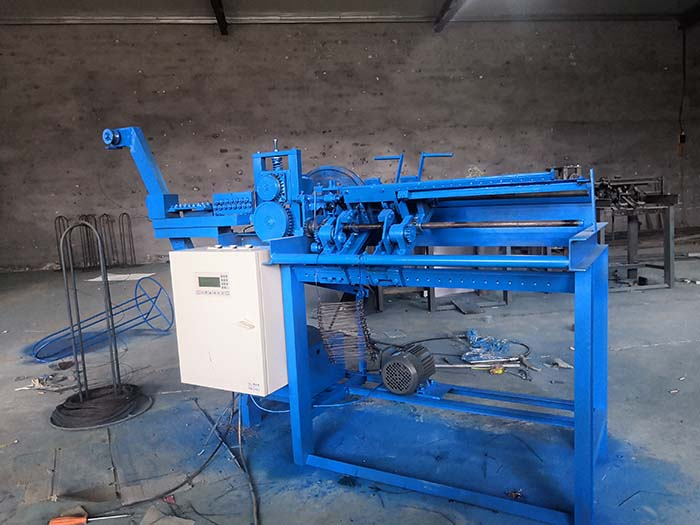 Double Quick Link Loop Tie Wire Machine For Binding Wire