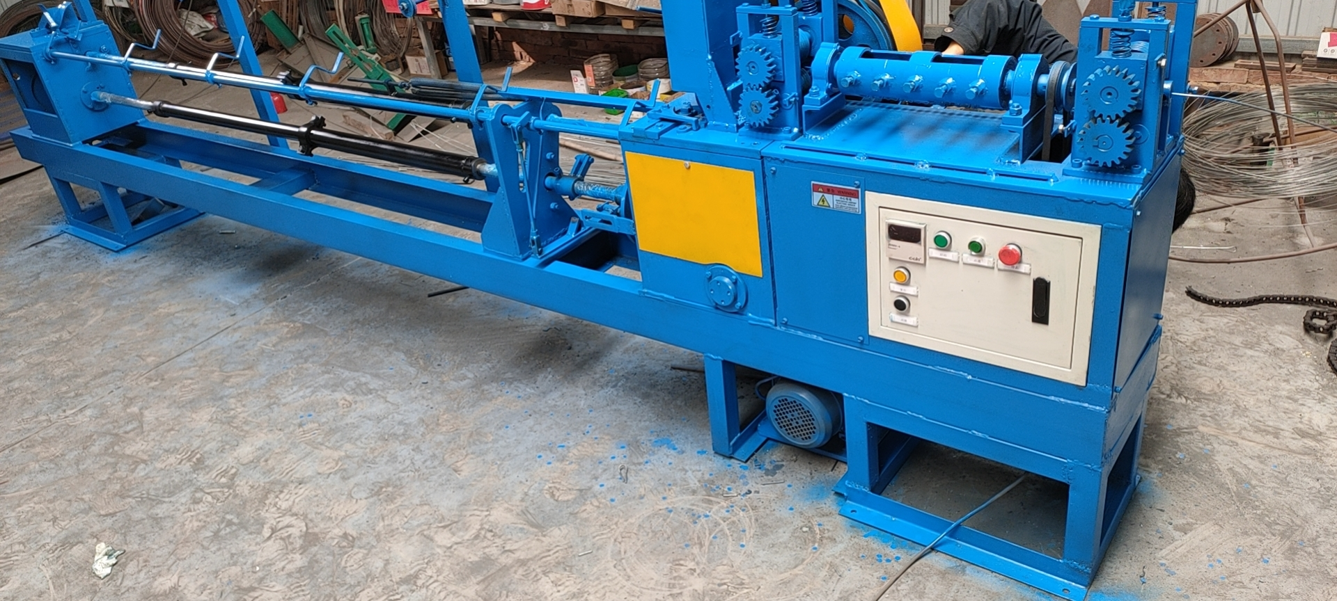steel wire baling machine for cotton baler