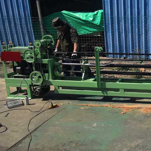 waste paper packed baler wire tie making machine