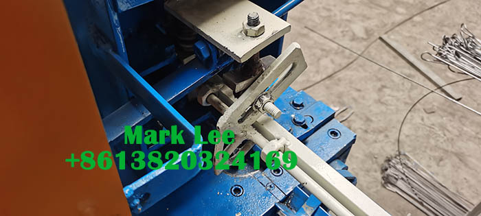 easy lock portugal baling wire ties machine