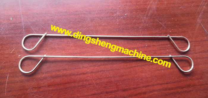 Copper coated welding loop tie wire