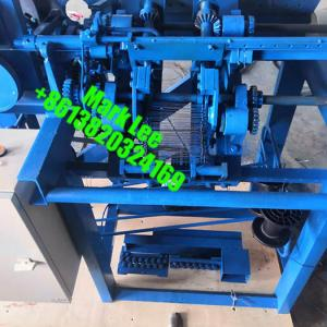 Rebar tie wire machine with double loops to Iraq