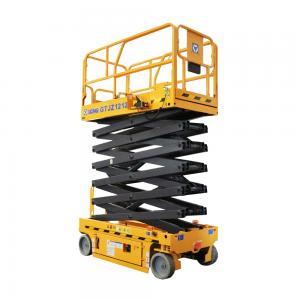 11m Mobile Scissor Lift Work Platform Hydraulic Lifting Table