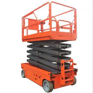 12m Electric Self Walking Mobile Scissor Lift Table for Sale