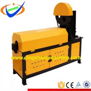 Automatic coil steel wire straightening and cutting machine