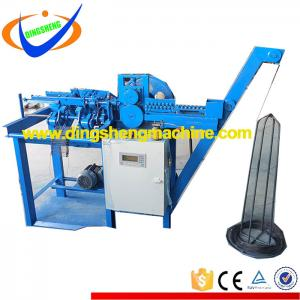 Automatic welding loop tie wire machine