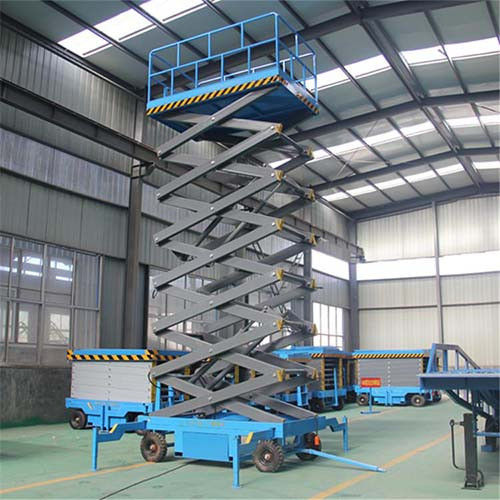 Building Machinery Platform Hydraulic Actuation Scissor Lift Table