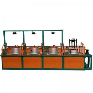 China Manufacturer Bull Block Continuous Wire Drawing Machine