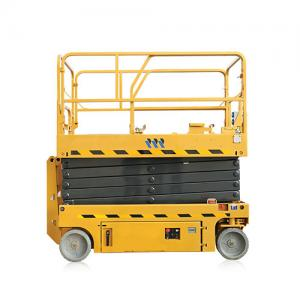 China cheap small propelled Mobile Electric Scissor Lift Machine