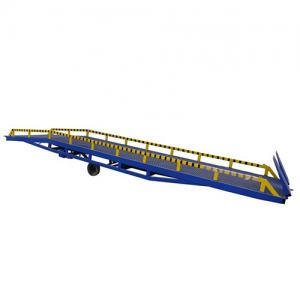 Container Load Ramp Truck Unloading Lift Machine