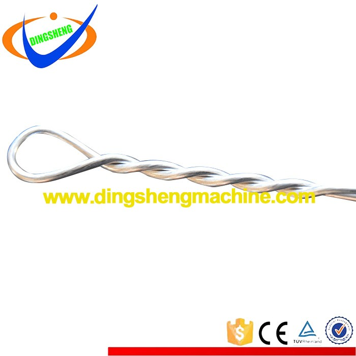 Epoxy coated black annealed iron tie wire 2mm baling wire machine