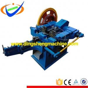 Hard drawn wire nail making machine production line