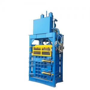 Industrial Hydraulic Baling Press Machine Vertical Cotton Baler