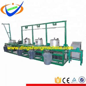 Low carbon Q195 / SAE1008 Nail Raw Material Wire Drawing Machine