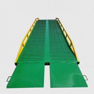 Manual  Adjustable Container Loading Mobile Dock Ramp