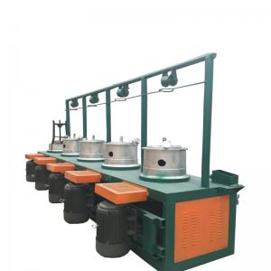Metal Wire Cable Drum Drawing Machine For Steel Wire