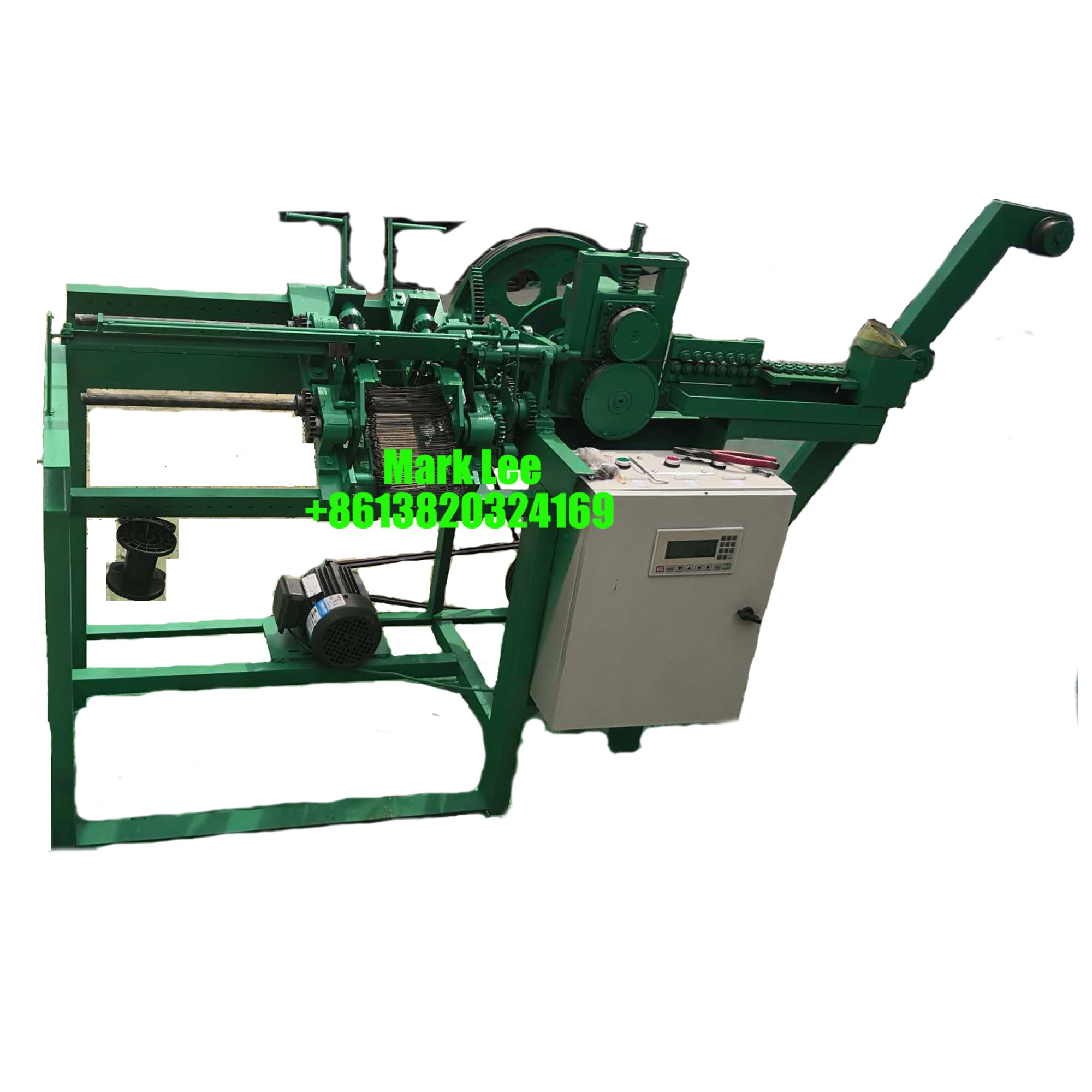 PVC Steel Loop Tie Wire Machine For Ice Sack