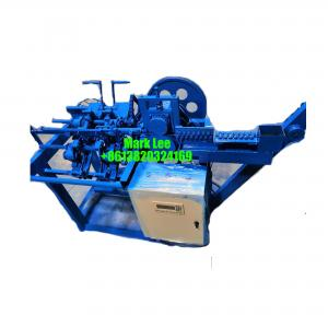Reinforcement steel bar double loop bale tying wire machine