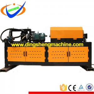 Steel rod bar straight and cut machine for building machine