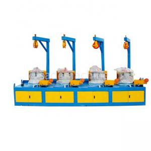 Hot selling nail wire drawing polish making machine in china
