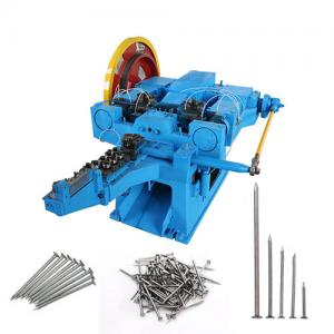 Supply nail machinery steel concrete nail making machine