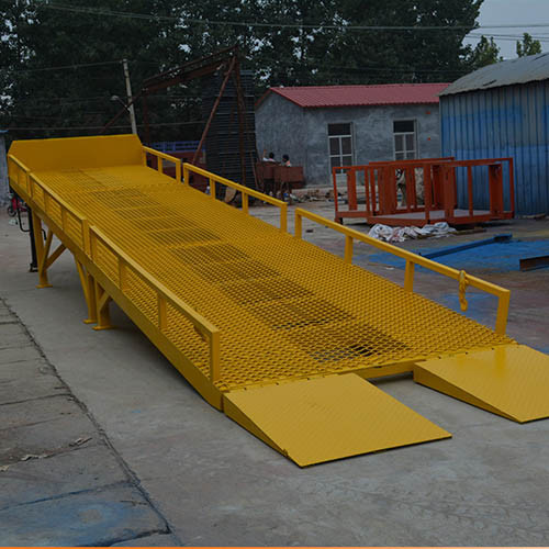 Strong Aluminium Loading Ramps Machine for Container