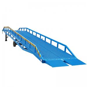 Warehouse Electric Mechanical dock ramp loading machine
